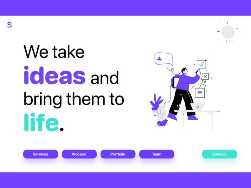 Sauce Designs Website Design Concept startup web designer mobile app mobile technology illustrations illustration web design website webdesign website concept web website design