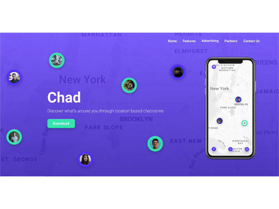 Chad Website - Redesign