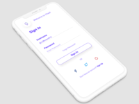 Daily UI - 01 - Sign Up & Sign In
