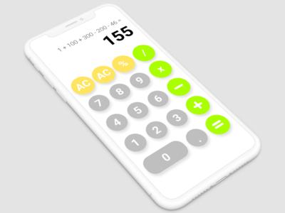 DailyUI-04-Calculator