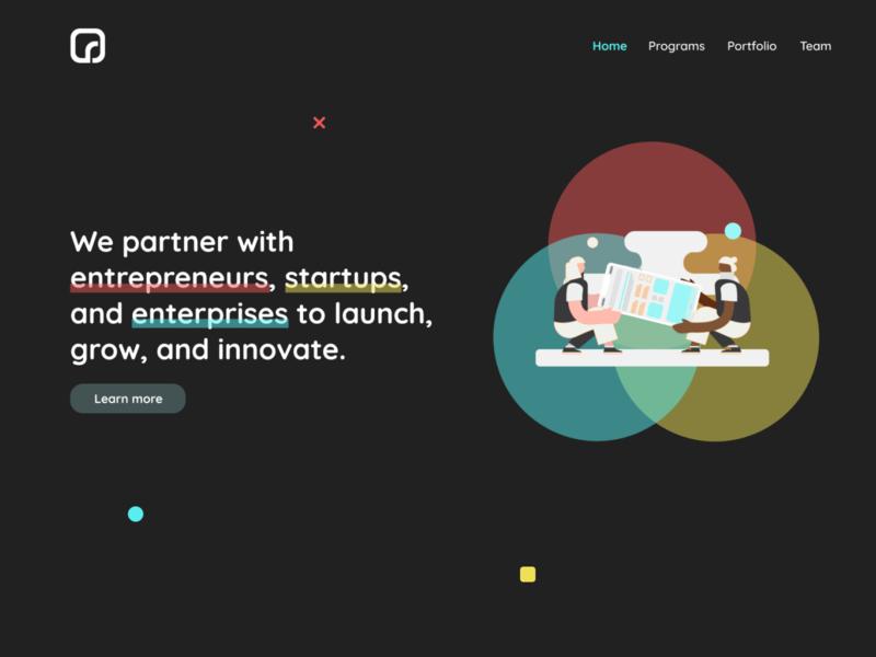 Website Concept Design enterprise startups entrepreneur tech webapps web design webdesign website illustration vector design contest contest logo graphic design graphics illustrations branding