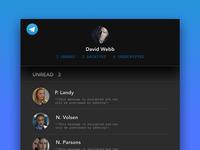 Telegram Redesign