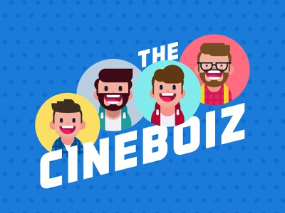 CineBoiz logo podcast