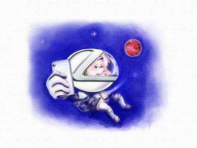 Lexus Astronaut adobe photoshop illustration adobe photoshop cc digital illustration design lexus brand cartoon illustration caricature astronaut color pencil digital painting adobe photoshop lexus cartoon branding illustraion
