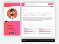 UI Designer Web Portfolio