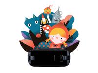Fairy tales illustration