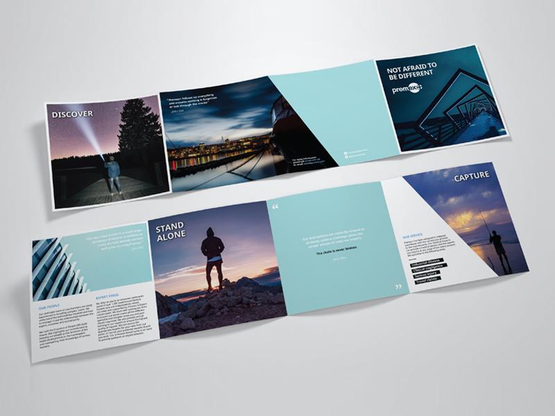 premex fold out brochure by emma ashdown dribbble dribbble