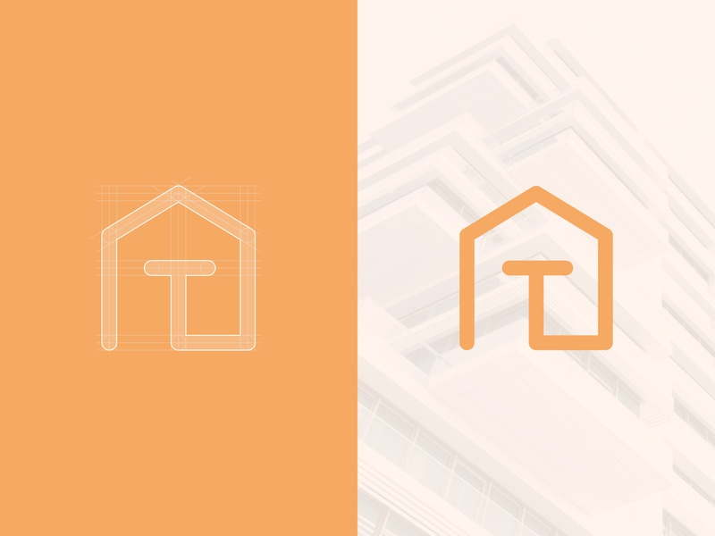 Tuzlak's Apartments Lettermark - Work in Progress brand design draft concept construction identity house letter apartments home clean design clean exploration branding design branding concept brand identity logo mark branding lettermark logo design logo