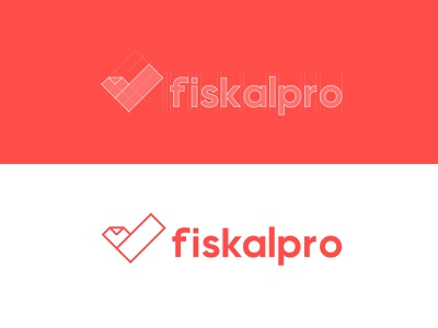 FiskalPro Logo&Branding - Work in Progress branding design concept logotype design logodesign exploration symbol monogram logotypes branding concept clean design construction paper branding agency brand identity logotype check mark branding logo design logo fiskalpro