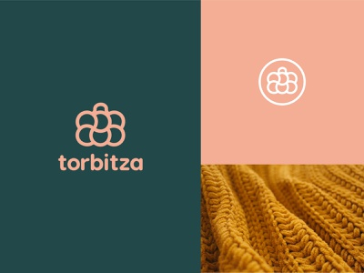 Torbitza Logo/Iteration 02 elegant artdirection logo design branding design logotypedesign clean design texture exploration mark fashion logo fashion knitting bag iteration symbol logotype brand identity branding torbitza logo