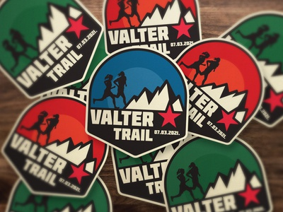 Valter Trail Final Project design process elaboration clean design symbol brand design exploration visual logo design sarajevo mountain nature run trail art direction brand identity branding project branding valter valter trail