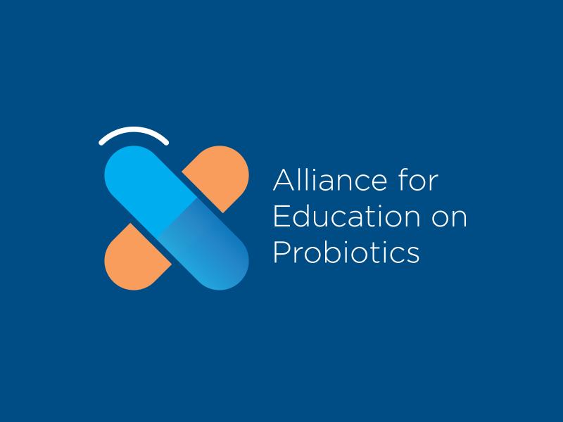 Alliance for Education on Probiotics education probiotic work design logotype concept skatch logo