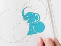 grey Olifant Logo Work in Progress