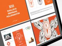 Sarajevo Halfmarathon 2019 Branding, work in progress