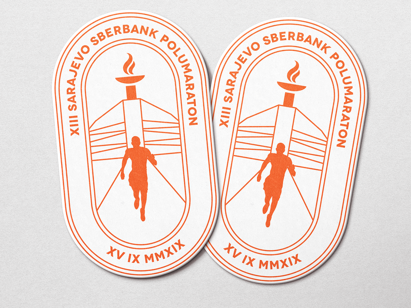 Coasters For Runners inspiration olympic games design memories illustration visual branding brand and identity runners coasters playoff dribbble sticker mule