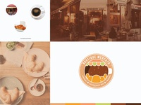 Boutique Mercato Caffe Snack Bar - Logo Design Concept