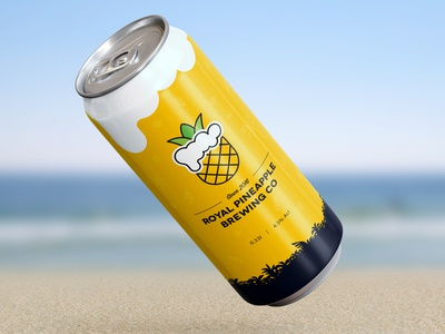 Royal Pineapple Brewing Co Label