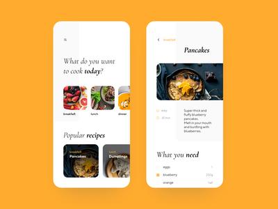 Orange food app