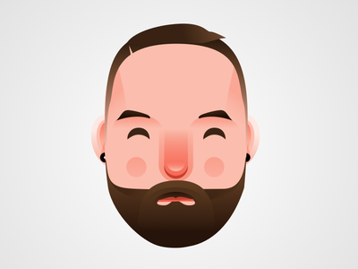 Bearded Companion sketch portrait beard