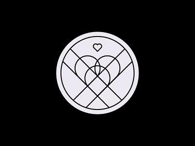 Crowd Pleaser Badge heart achievement badge
