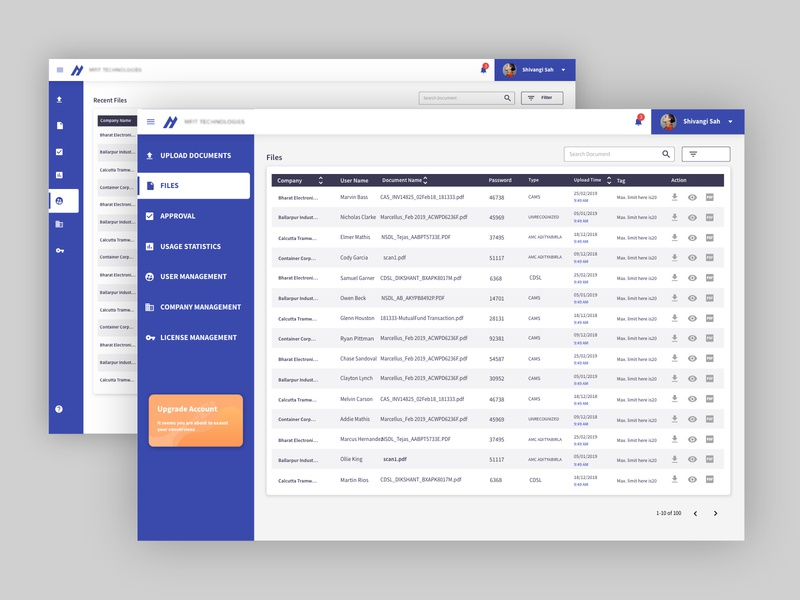 File View - UI