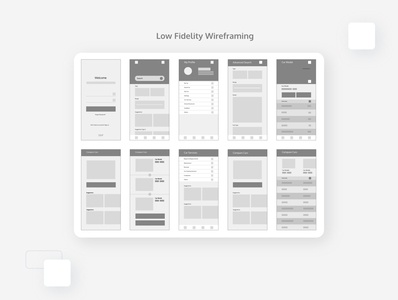 RTA MyDrive Application - Wireframing ux design uxui application design wireframing dribbble behance wireframe application mobile ui graphic vector graphics adobe uidesign design ux ui illustration