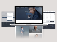 Men's Clothing Website