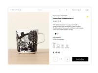 Daily UI #012 -- E-Commerce Shop (Single Item)