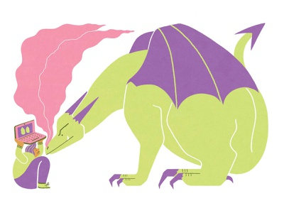 Net Magazine x Clients From Hell publishing character design editorial illustration colourful artwork illustration