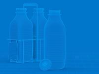 Milk Jug Wireframe