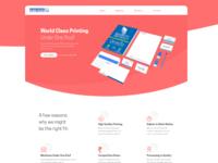 Printing Website UI