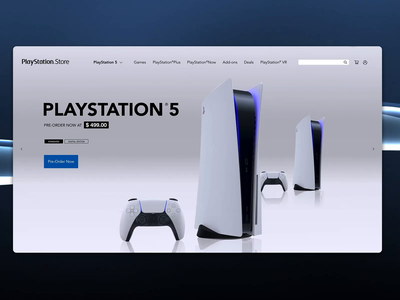 PlayStation 5 playstation store playstore playstation5 playstation sony web interface interface ux ui