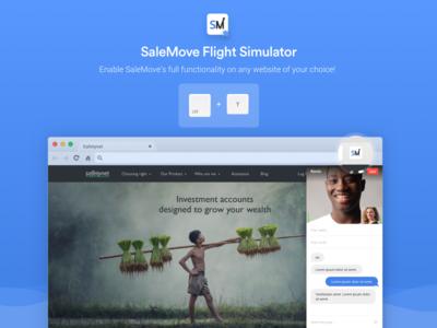 SaleMove Flight Simulator