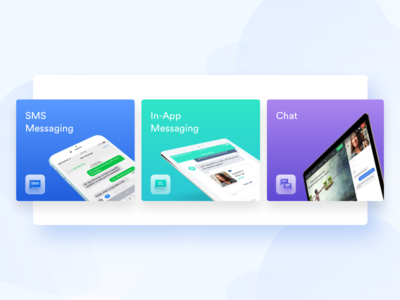 Our messaging options messaging in-app sms cx ux chat salemove customer experience