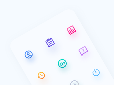 Operator app icons web redesign dashboard mobile app landing cx icons ui ux salemove