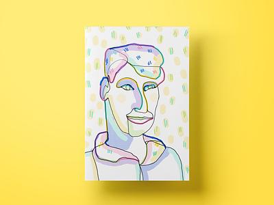 Dmitry salemove ux cx ui customer experience illustration poster blindtrace