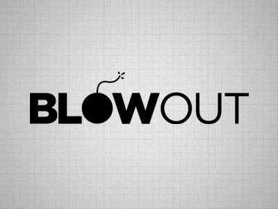 Logo - Blow Out logo out monochrome vector geometric