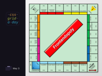 Monopoly, but in CSS Grid