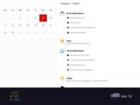 Itinerary Application | CSS Grid May 19