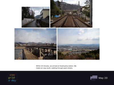 Photoessay Layout   CSS Grid May 20