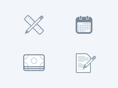 Payment Icons payment cash calendar document iconset design icons