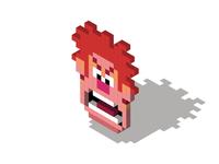 Wreck It Ralph Pixel Art