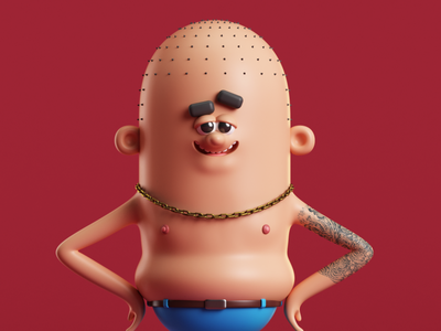 Mr. Weed 3dillustration 3d art vray 3dmodel 3d cinema4d c4d