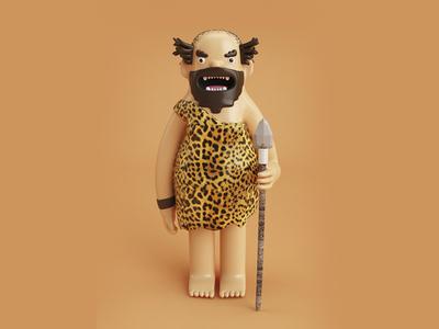 Crazy Caveman
