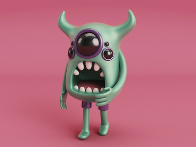 Monster 3dmodel 3d monster c4d cinema4d