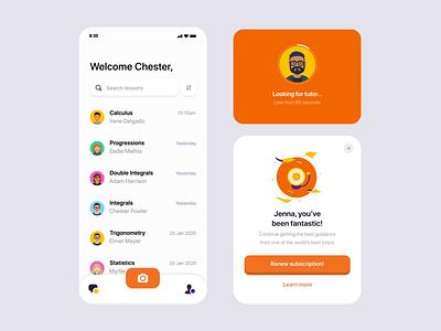 EasyA mobile settings profile camera illustration icon app mobile