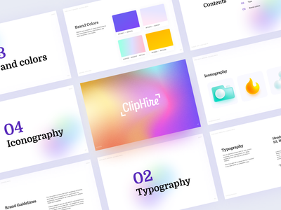 Cliphire Branding ats website 3d branding logo graphic design ui