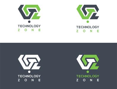 Technology Zone   Logo Design