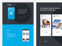 Bountye app vector inspiration website animation typography icon color flat main app design interface web ux ui
