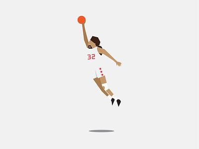 Dr J dr j basketball illustrator illustration vector design